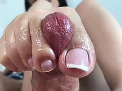 Friendly footjob ends in high five. From: QCock. Tags: big cock, dick, en, feet, fetish, foot fetish, foot worship, footjob, toes, worship, big dick, in, high, soles, canada, foot fuck, solejob, friendly, five