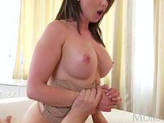 MOM Big tits brunette Aussie Milf takes big cock before squirting orgasm. Starring: Yasmin Scott. Produced by: Sexy Hub. From: QCock. Tags: 10 plus inch cock, australian, big cock, big tits, brunette, dick, milf, orgasm, squirt, tits, big dick, mom, squirting, big, cock, takes, big tit milf, aussie