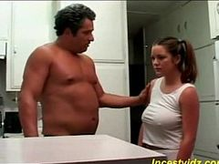 Bad daddy fucks his hot busty daughter in kitchen. Starring: Herschel Savage, Cheyanne Bailey. From: QCock. Tags: bbw, big tits, bus, busty, fantasy, kitchen, roleplay, dad, step fantasy, daddy, family, daughter, in, hot, fucks