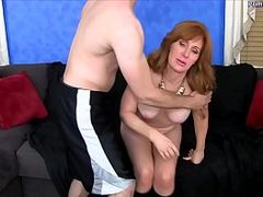 Freya's Son Takes Advantage. Starring: Freya Fantasia. Produced by: Primal Fetish. From: QCock. Tags: aged, blowjob, blowjob and cum, cum, cum in mouth, fantasy, fetish, fucking, kinky, milf, son, taboo, sex, takes, older woman