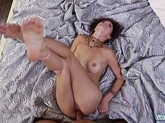 MILF Jenni Lee gets pusssy and feet fucked. Starring: Jenni Lee. Produced by: Naughty America. From: QCock. Tags: feet, naughty, milf, and, gets