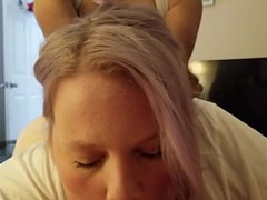 Wife getting pounded. From: QCock. Tags: 3some, amateur, amateur threesome, threesome, wife, pounded, mfm
